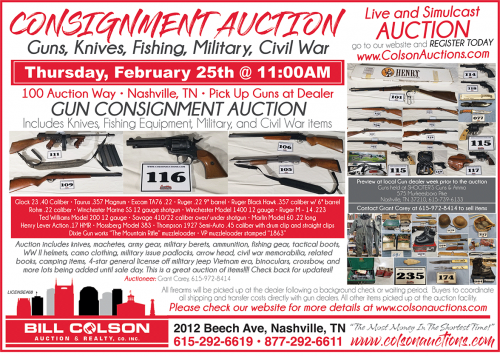 BillColsonAuction580